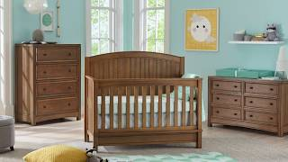 Bristol 4-in-1 Convertible Crib | Baby Furniture Sets | Kolcraft Baby