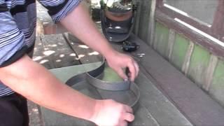 Самодельная рамка для садовой дорожки видео