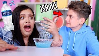 Testing JSH DIY Water Slime Recipes in front of him..Exposed?