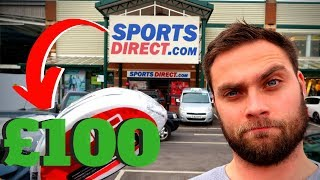 SPENDING £100 ON GOLF CLUBS IN SPORTS DIRECT - RESULTS