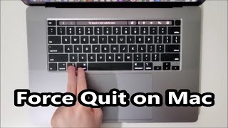 Mac How to Force Quit Close Frozen Apps