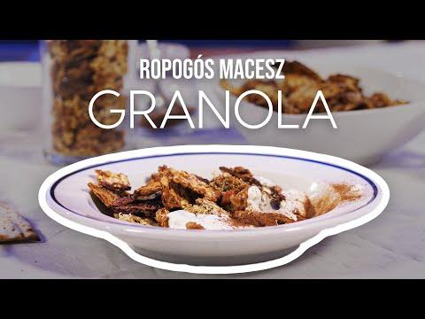 Tám-tádááám! – Ropogós macesz granola Lila fügétől