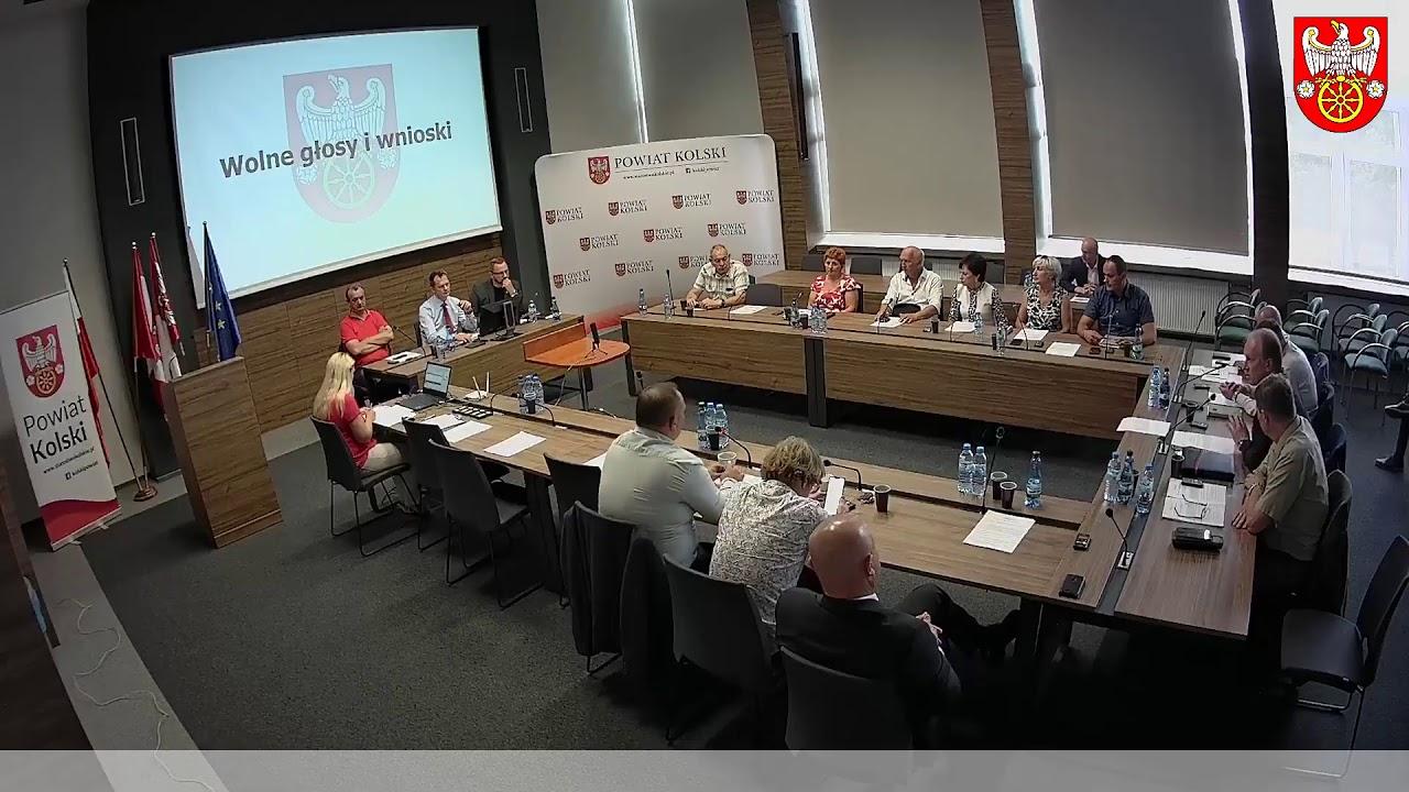 Zdjęcie do XIII Sesja Rady Powiatu Kolskiego