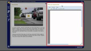 NAEP Writing Computer-Based Assessment Tutorial video image