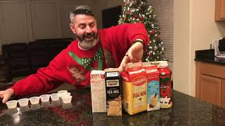 Which Eggnog is the Best Nog?