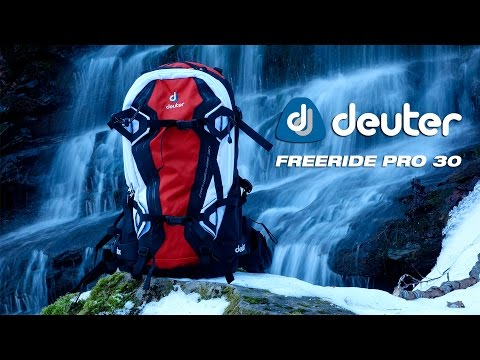 Deuter Freeride Pro 30 : zaino per snowboard backcountry e scialpinismo