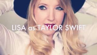 Lisa as Taylor Swift LIVE