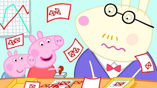 Peppa Pig Official Channel   Peppa Pig Goes to Daddy Pig's Office for a Day