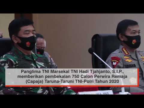 Pembekalan Panglima TNI & Kapolri Adalah Dua Institusi Besar Aset Strategis NKRI