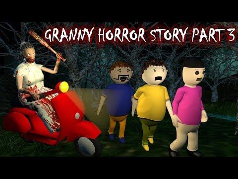 Android Game Granny Horror Story Part 3 (Animated Cartoon For Kids) Make Joke Horror