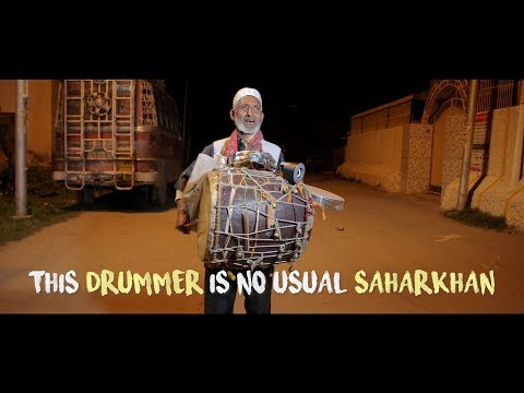 This drummer is no usual Saharkhan