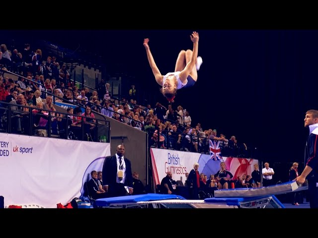 Trampoline, Tumbling & DMT British Championship tickets on sale