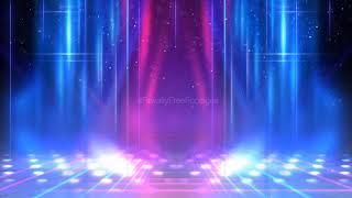 neon background video loop   Neon stage lighting background video   animation background template