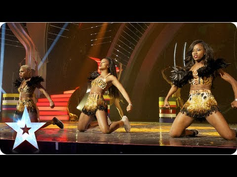 CEO Dancers shake the stage   Semi-Final 5   Britain's Got Talent 2013