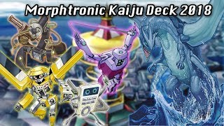 Yu-gi-oh! Morphtronic Kaiju (Rage Quit) deck April 2018 YgoPro Replays + Decklist