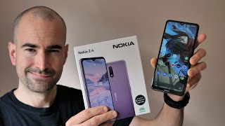 Nokia 2.4 Unboxing - £99 Budget Phone - Full Tour, Gaming & Camera Test