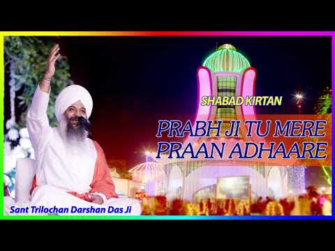 Shabad Kirtan | Prabh Ji Tu Mere Praan Adhaare | Sung by Sant Trilochan Darshan Das Ji