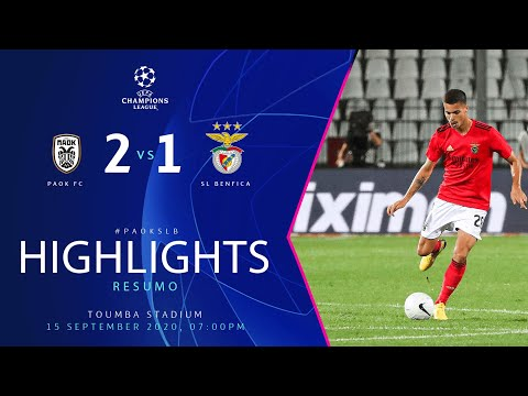 PAOK 2-1 Benfica