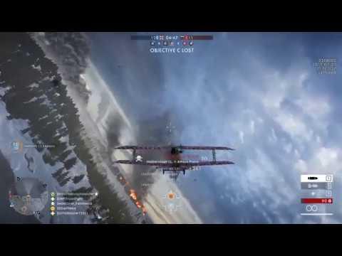 Battlefield 1 Albion Airplane play (Beautiful West Estonian islands