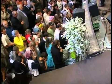 Молитва на выходе из храма