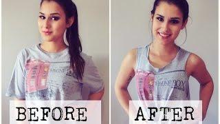 DIY: Transforme sua camiseta em uma regata cavada! #VEDA14