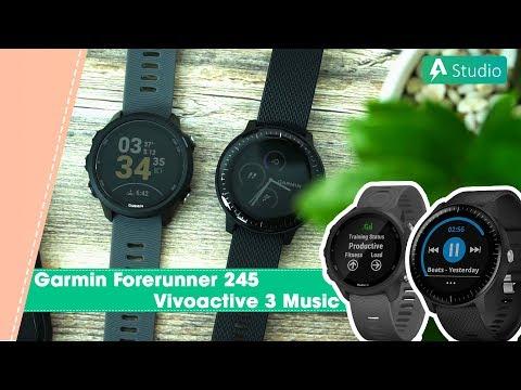 [SS] Forerunner 245 và Vivoactive 3 Music| Con nào tốt hơn???