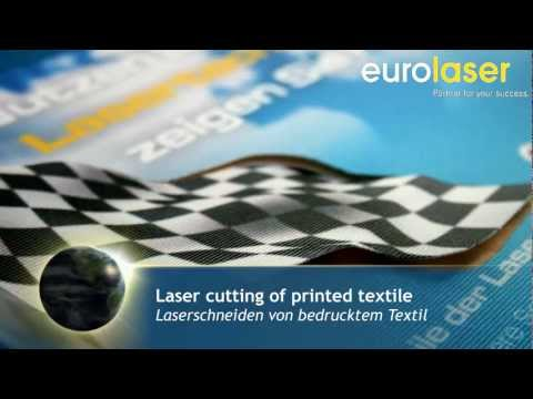 Printed polyester fabrics | Laser cutting