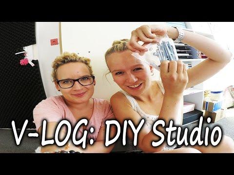 V-Log NEUES aus dem DIY Studio   Eva & Kathi bauen den neuen IKEA Tisch auf   Überblick