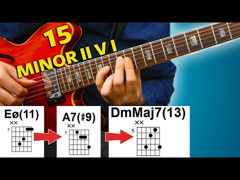 15 Minor II V I - Beautiful Jazz Chords You Need To Know