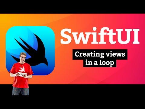 Creating views in a loop – WeSplit SwiftUI Tutorial 6/11 thumbnail