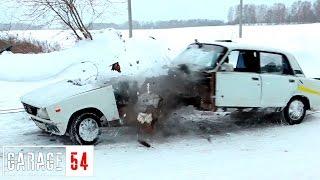 ТУНДРА vs ВАЗ 2105 - жигули ПОРВАЛО
