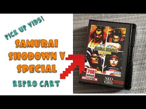 Samurai Shodown V Special Neo Geo AES USA FIXED - 100% Original