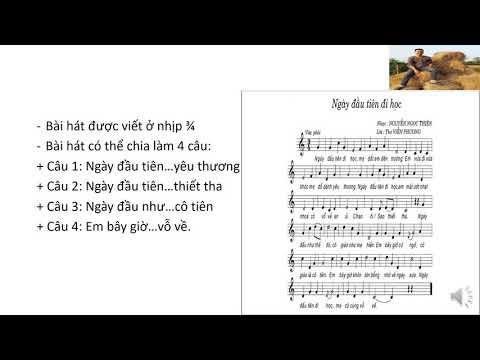 Âm Nhạc Lớp 6: Chủ Đề Đi Học