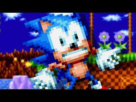 Broken Sonic Mania (Sonic Mania Mod) - смотреть онлайн на
