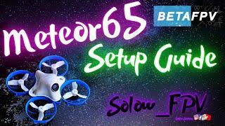 Betafpv Meteor65 Set-up Guide : Spektrum Edition