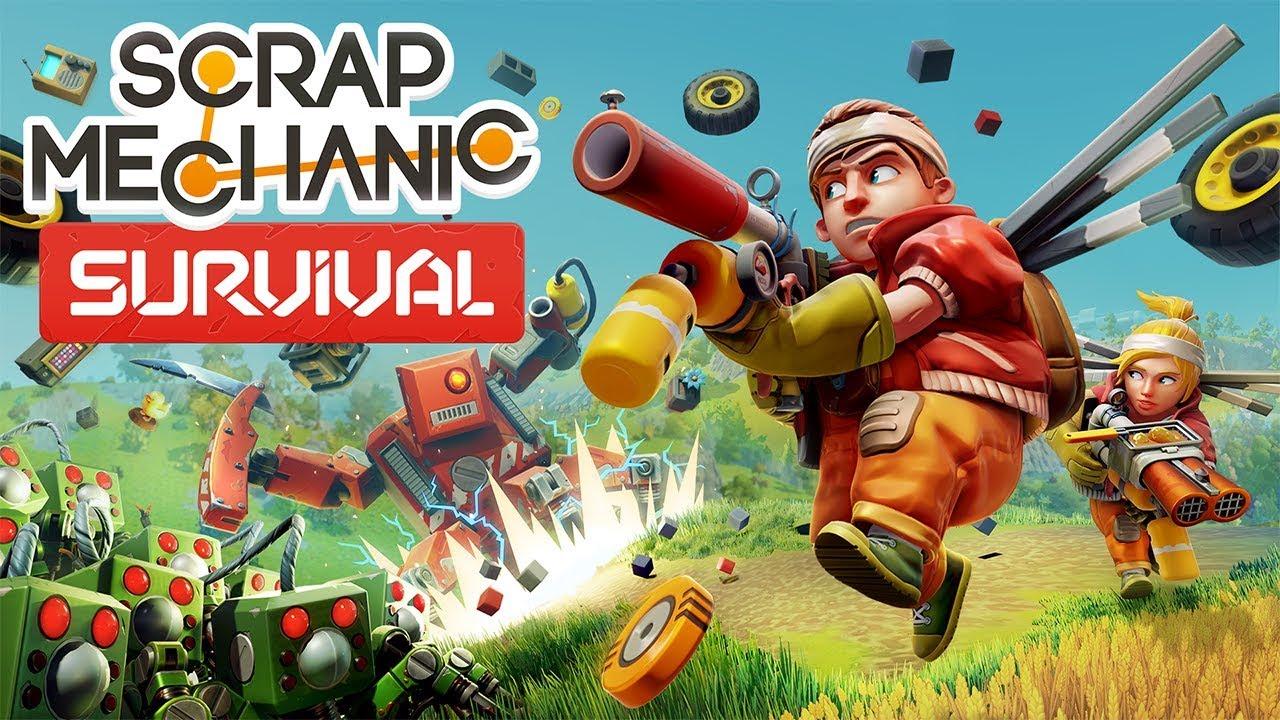 Геймплейный трейлер игры Scrap Mechanic