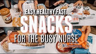 HEALTHY SNACKS + EASY MEALS FOR THE BUSY NURSE | Holley Gabrielle