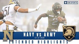 Navy Midshipmen vs. Army Black Knights: Extended Highlights   CBS Sports HQ