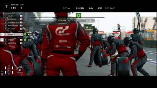 "【GT SPORT】  ""FIA19 Rd.23 Rd.3 模擬戦 Day.2その2"" 6/14"