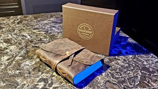 ASMR Moonster Leather Journal Review