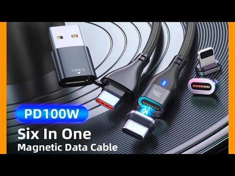 Магнитный кабель для быстрой зарядки и передачи данных