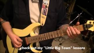 How to play Where I Came From by Alan Jackson on guitar by Mike Gross