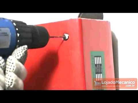 Jogo de Extratores de Parafusos Pequeno com 05 Peças - Video