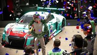 JOT381 GRAN TURISMO SPORT 210618 KYOTO PARK+ AUDI R8 LMS 2nd to 1st ONLINE RACE 8 LAPS 537th WIN