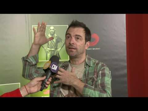 Kevin Johansen video Mis Américas - Entrevista CM 2016