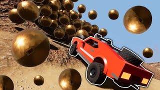 LEGO AVALANCHE ROCK CRAWLER RACE! - Brick Rigs Multiplayer - Lego City Toy Race