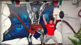 Dmitry Klokov training and WWC 85 kg in Almaty - Most