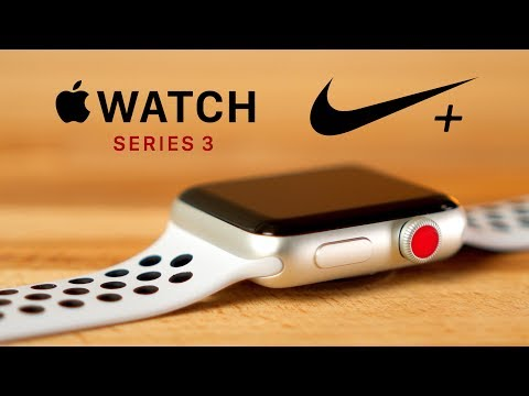 Apple Watch Nike+ Series 3 (42mm, Alluminio)