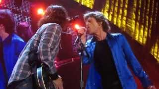 The Rolling Stones with Dave Grohl  - Bitch ( Front Row ) - Live @ The Honda Center 5-18-13 in High Quality Mp3