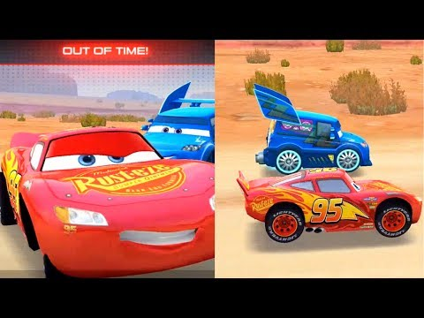 CARS: LIGHTNING LEAGUE VIDEO GAME - MCQUEEN RACING AGAINST OPPONENTS AND THE FINAL RACE WITH DJ